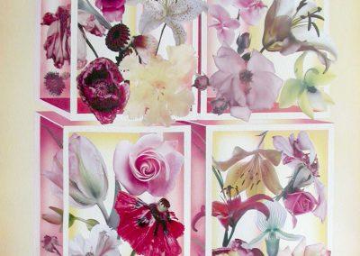 Flowers 74x104 cm