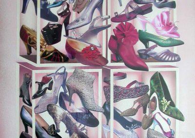 Shoes 74x104 cm